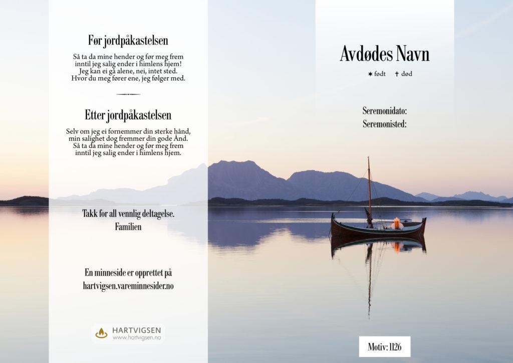 1126 Nordlands båt [22186]