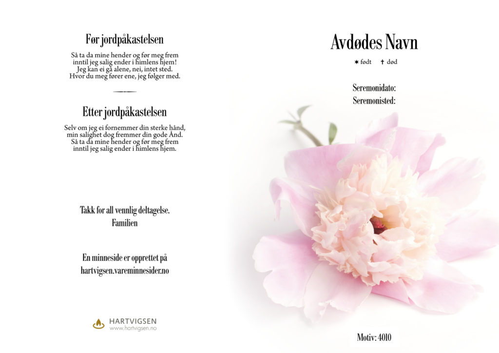 4010 Pion blomst [22232]