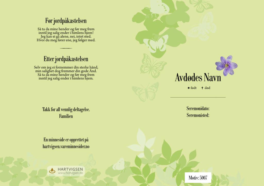 5007 Grønneblader [22285]