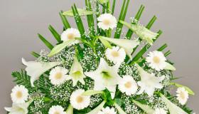 Blomster_Baaredekorasjon_hvit