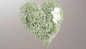 Blomster_Hjerte_hvitt_med_brudeslor