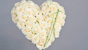 Blomster_Hjerte_hvitt_med_roser